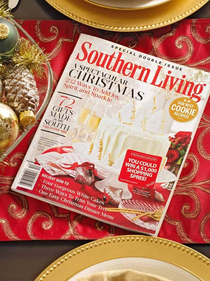 Southern Living Magazine Christmas Issue