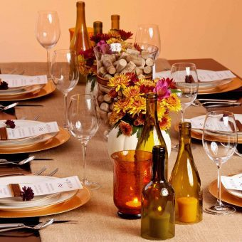 DIY Table Decor: Thanksgiving
