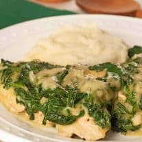 Easy Chicken Florentine