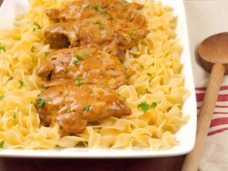 Easy Chicken Paprikas (Paprikash)