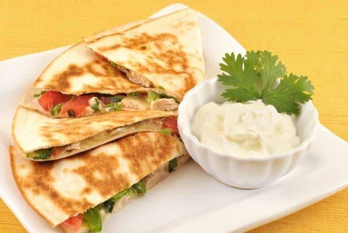 Easy Chicken Quesadillas Recipe Mygourmetconnection