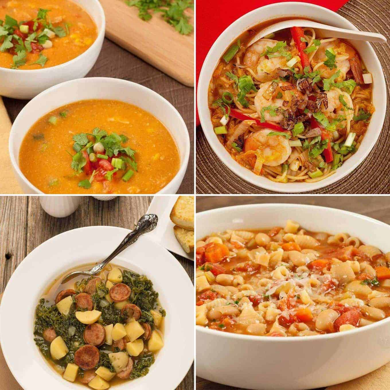 Easy Dinner Soup Recipes Mygourmetconnection