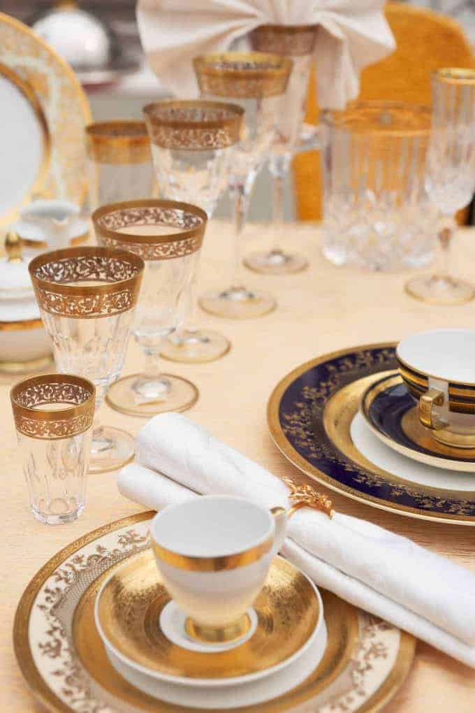 Easy Entertaining Caring for China and Linens