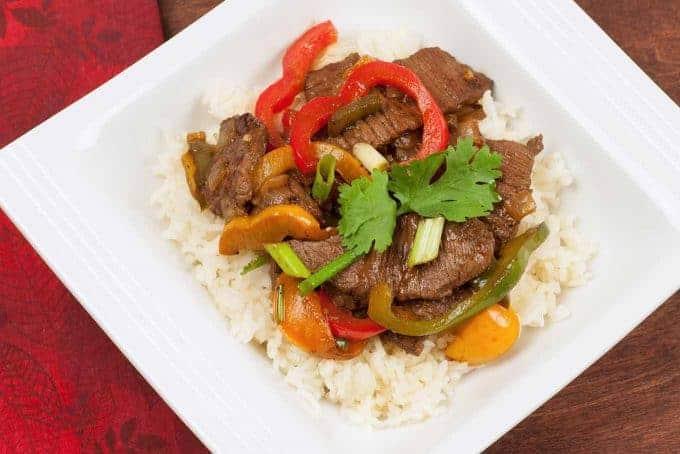 Easy Pepper Steak