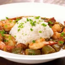 Easy Shrimp and Andouille Gumbo