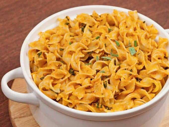 Egg Noodles with Pumpkin Brown Butter and Sage