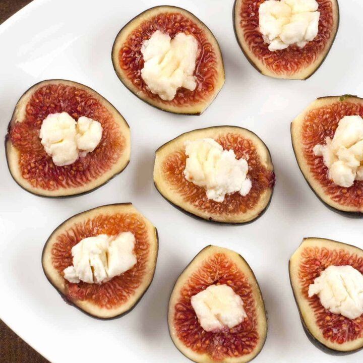 Fig and Goat Cheese Bites
