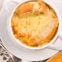 French Onion Soup Gratinée