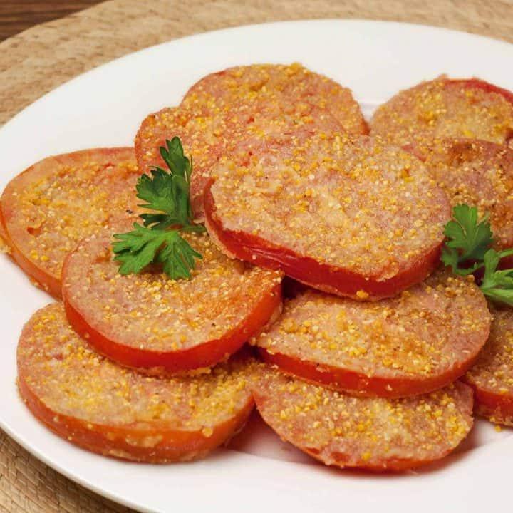 Fried Ripe Tomatoes