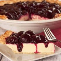Fruit-Topped Greek Yogurt Pie