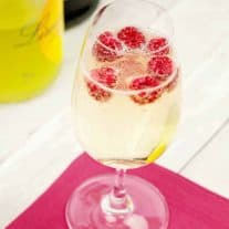 Fruity Prosecco Sparklers