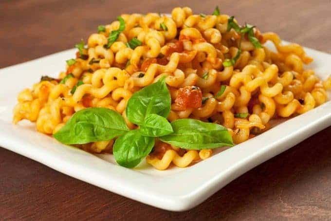 Fusilli with Pink Sauce