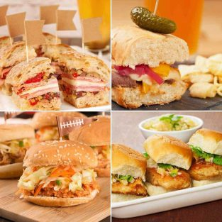 Game Day Party Sandwiches