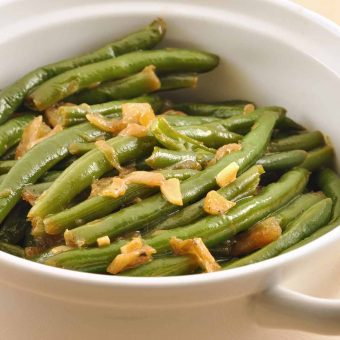 Garlic Braised Green Beans
