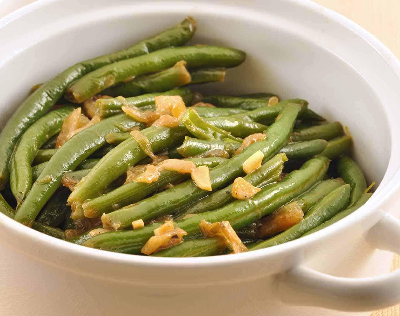 Garlic Braised Green Beans