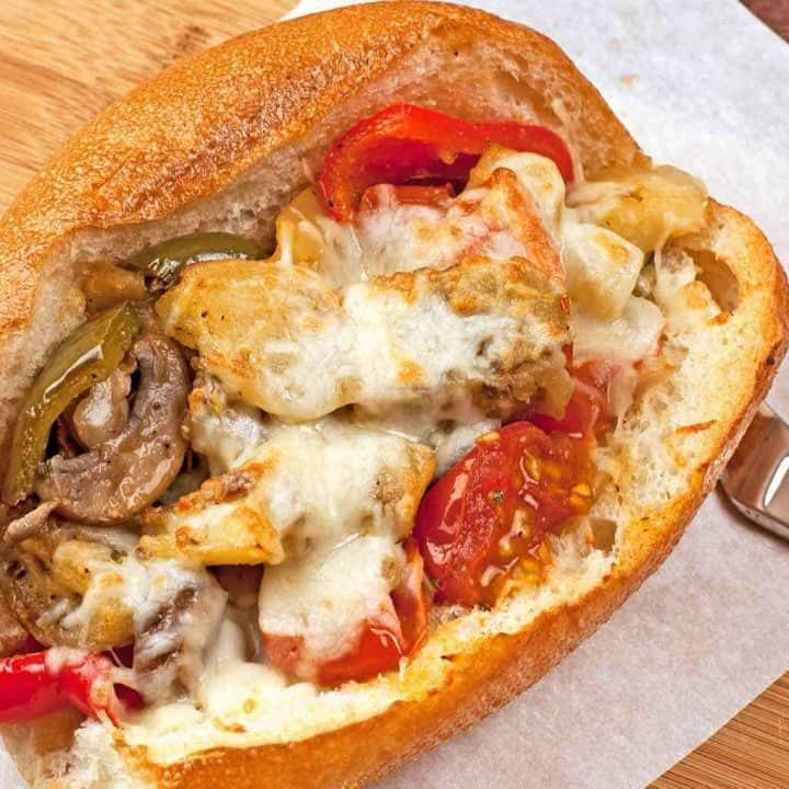 Garlic-Roasted Vegetable Sub