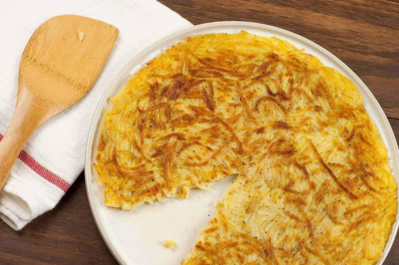 Картофельная галета рецепт