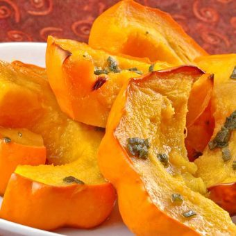 Golden Acorn Squash With Sage And Honey