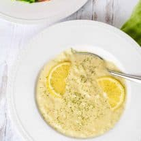 Greek Egg and Lemon Soup
