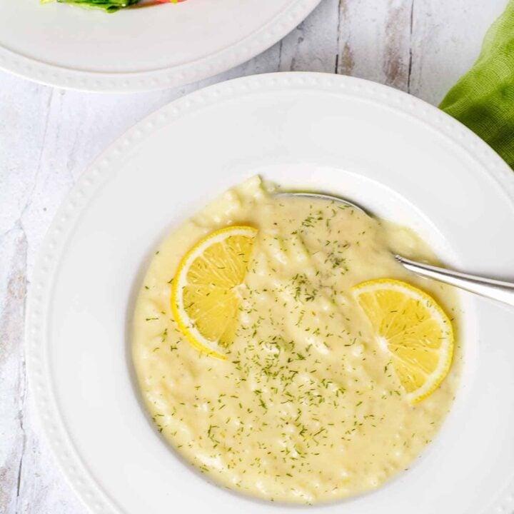 Greek Egg and Lemon Soup
