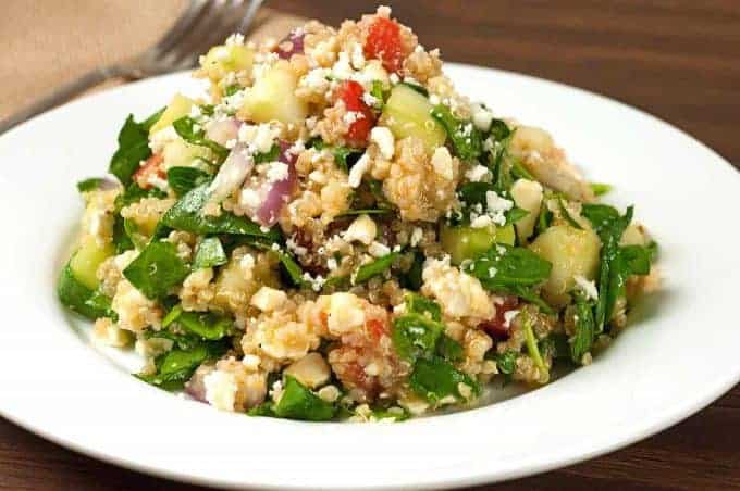 Spinach and Quinoa Salad Recipe