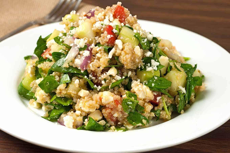 Spinach and Quinoa Salad Recipe