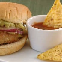 Green Chile Turkey Sliders