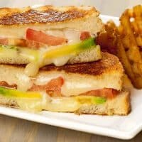 Grilled Avocado and Pepper Jack Sandwich