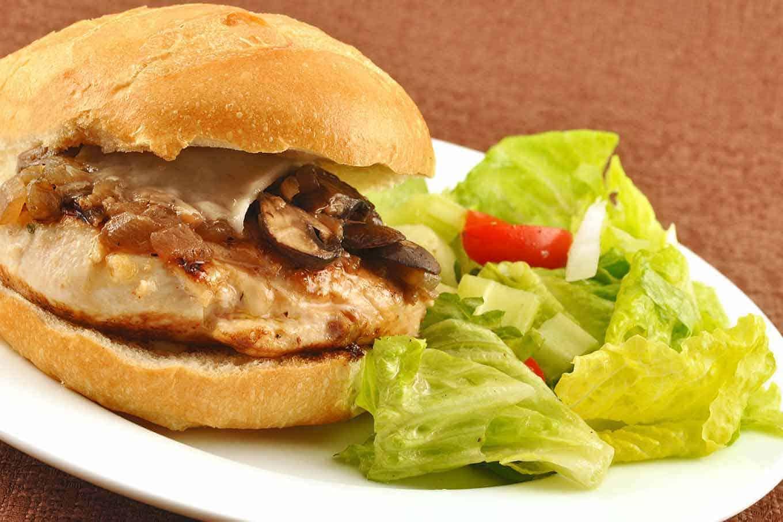 Grilled Chicken Marsala Sandwich