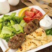 Grilled Moroccan Lamb Kefta