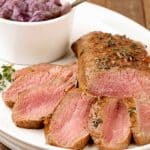 Guinness Glazed Lamb with Red Onion Jam