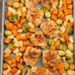 Sheet Pan Honey Balsamic Chicken Thighs
