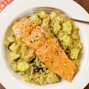 Honey Garlic Salmon and Quinoa Bowl