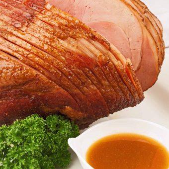 Honey-Glazed Spiral-Sliced Ham