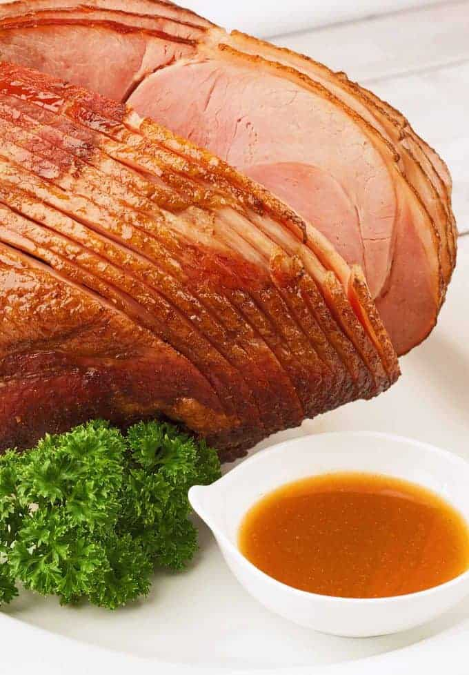 Honey-Glazed Spiral-Sliced Ham
