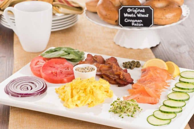 Host A Brunch Bagel Buffet Toppings