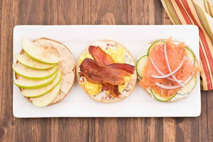 Host A Brunch Make Your Own Bagel Buffet