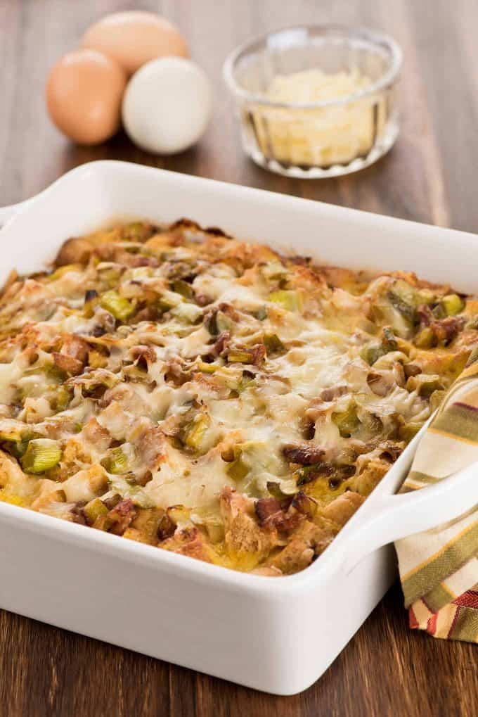 Host A Brunch Breakfast Strata