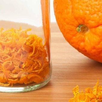 How To Make Dried Orange Peel