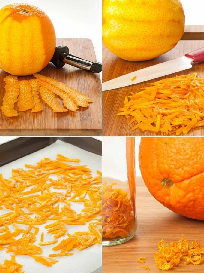4 Steps To Make Dried Orange Peel