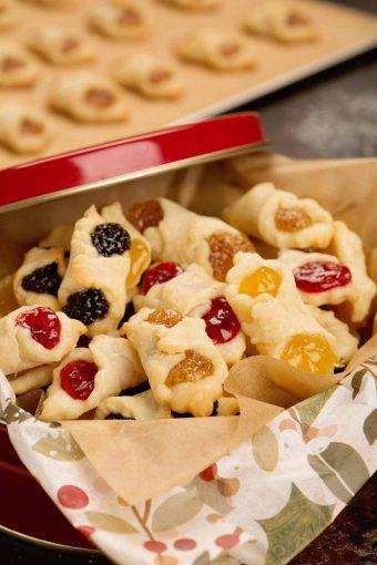 Hungarian Kiffles Christmas Cookies