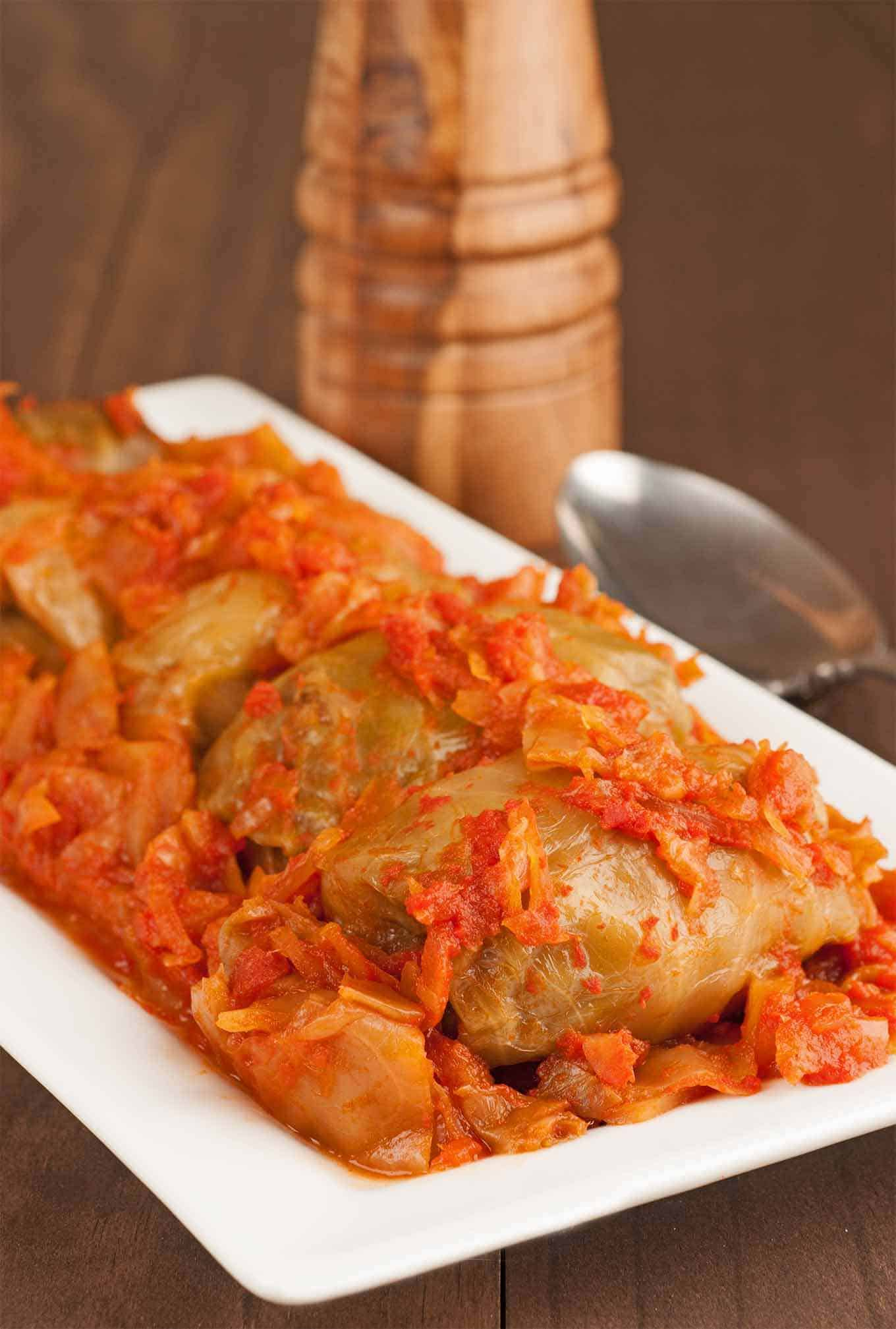 Hungarian Stuffed Cabbage Rolls Recipe Mygourmetconnection