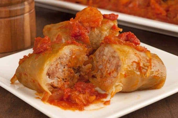 Hungarian-Style Stuffed Cabbage Rolls