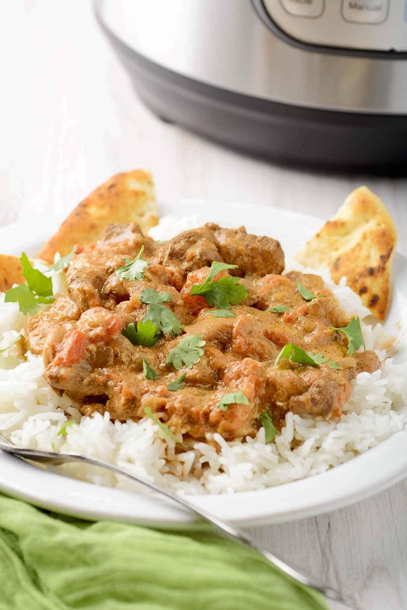 Chicken Tikka Masala Instant Pot Recipe