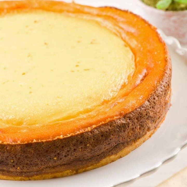Italian Ricotta Cheesecake Recipe