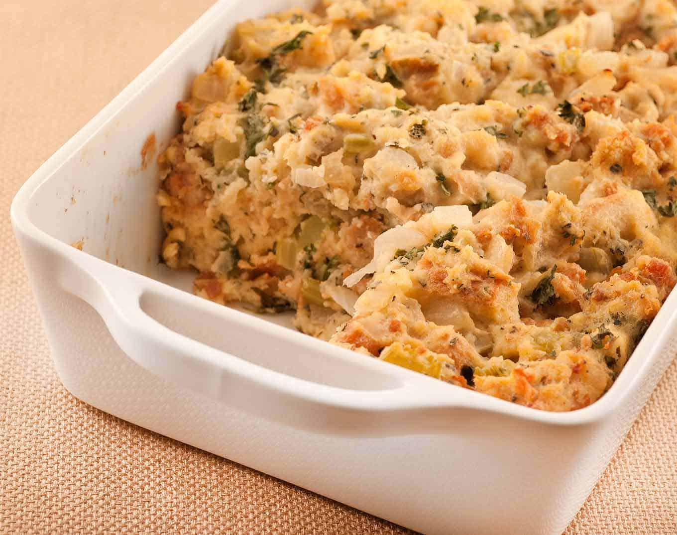 Old fashioned bread stuffing 26
