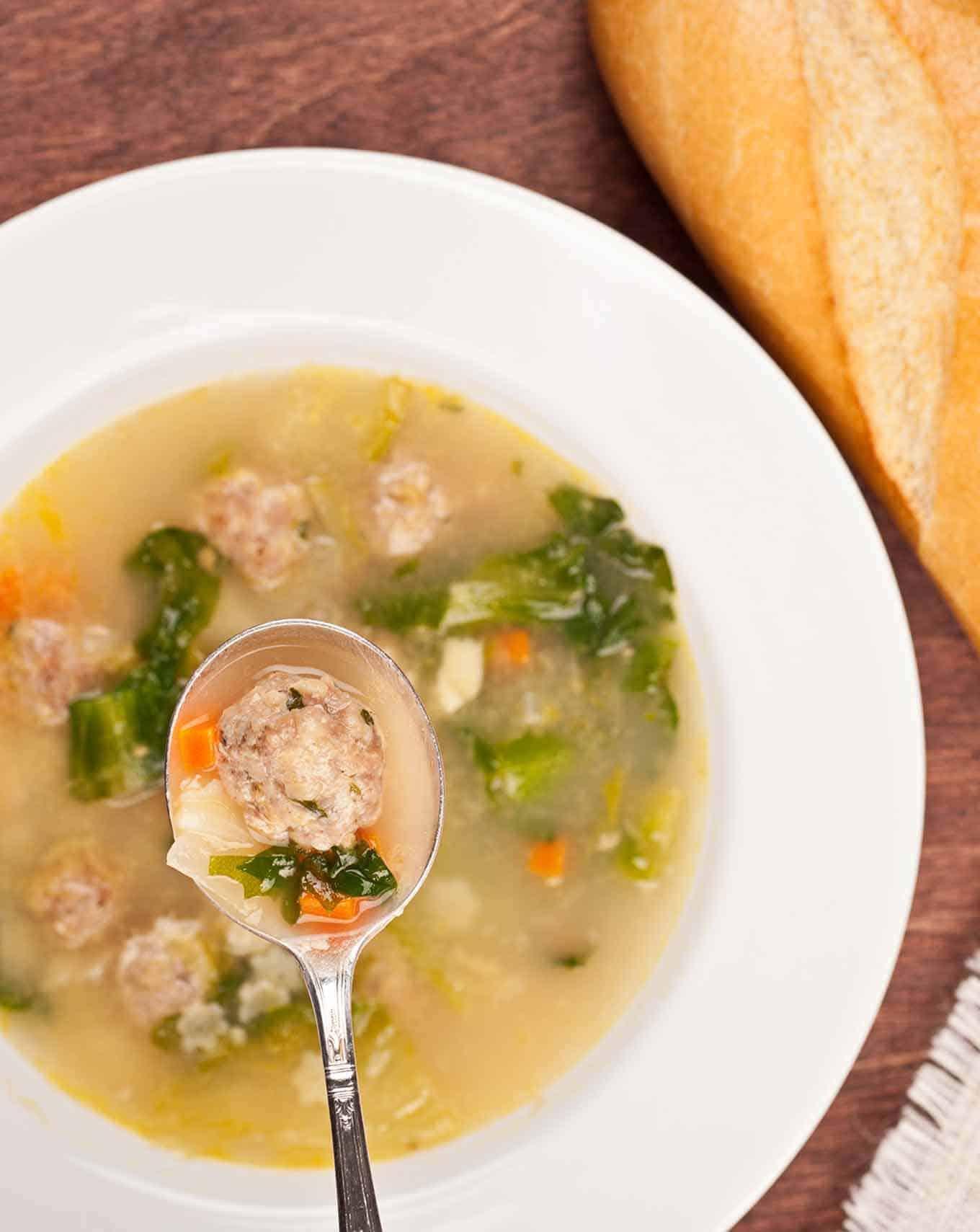 Italian Wedding Soup O MyGourmetConnection