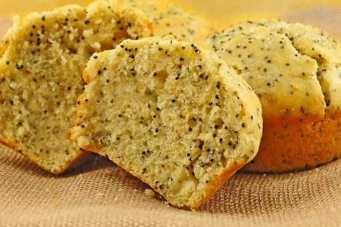 Lemon Poppy Seed Buttermilk Muffins