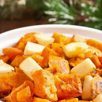 Lemony Sweet Potatoes w/Apples and Sage