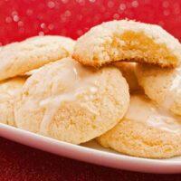 Limoncello-Glazed Ricotta Cookies